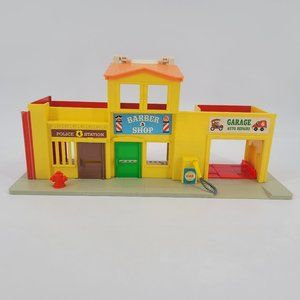 Vintage Fisher Price Little People Downtown